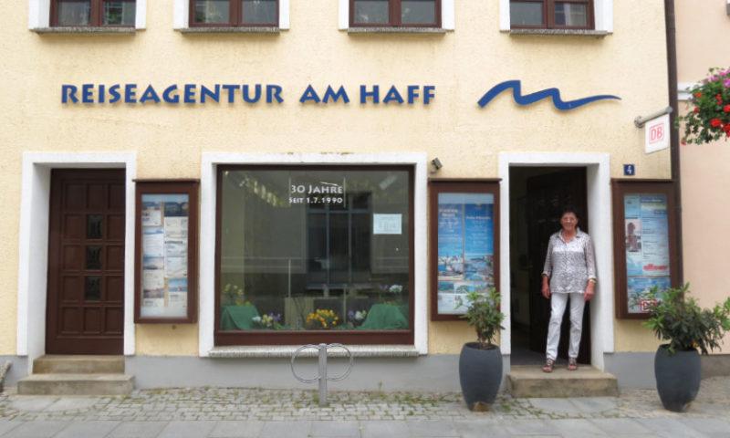 30 Jahre Reiseagentur am Haff