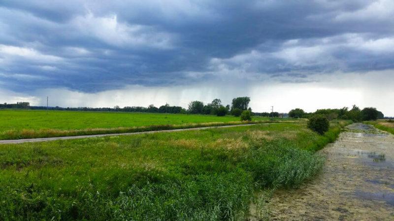 Regenwetter bei Ferdinandshof