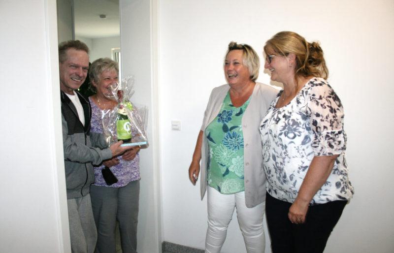 Vorstand der Wohnungsgenossenschaft Ueckermünde gratuliert