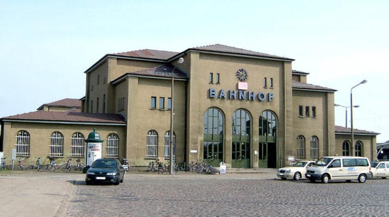 Bahnhofsgebäude Pasewalk
