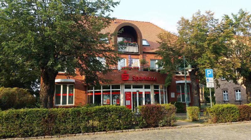 Umbau Sparkasse Uecker-Randow in Ferdinandshof