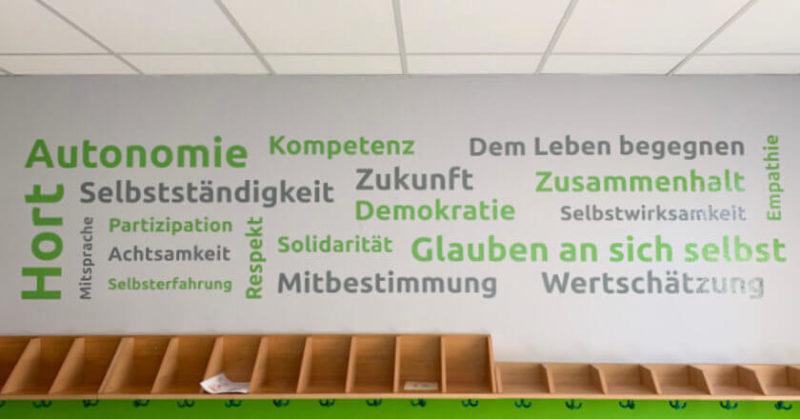 """Wandtattoo Hort """"Zwergenland"""""""