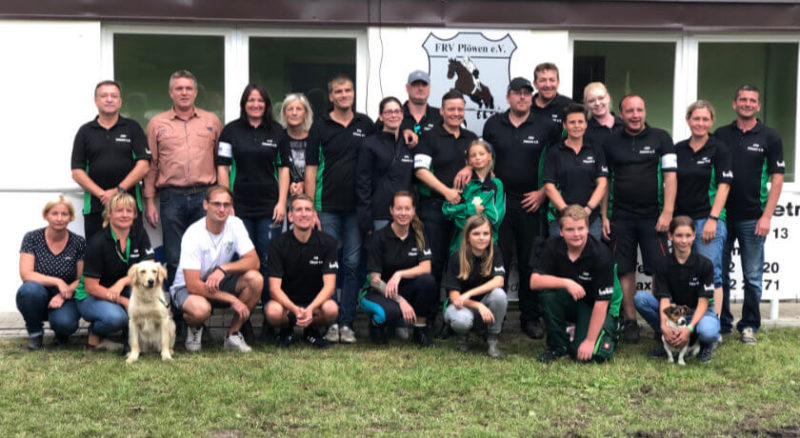 Reitturnier Plöwen – Team