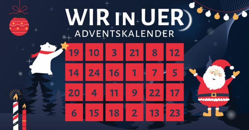 WIR in UER Adventskalender