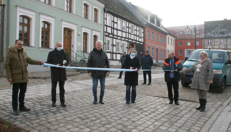 Eröffnung der Großen Kirchenstraße