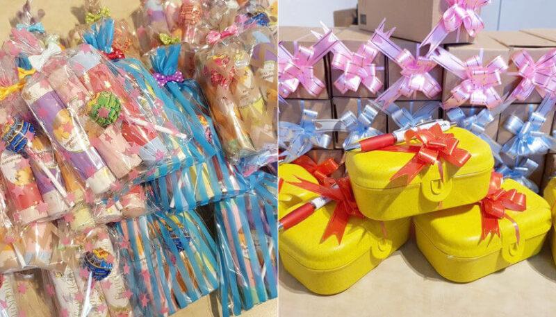 Weihnachtstruck Geschenke