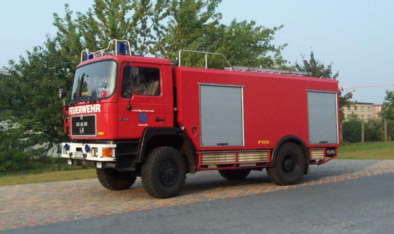 Feuerwehr Tanklöschfahrzeug