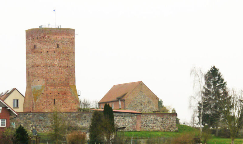 Löcknitzer Burg
