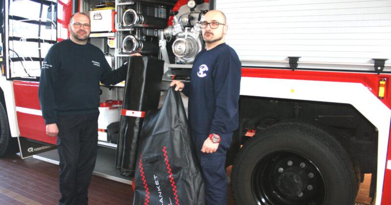 Feuerwehr Pasewalk - Löschdecken