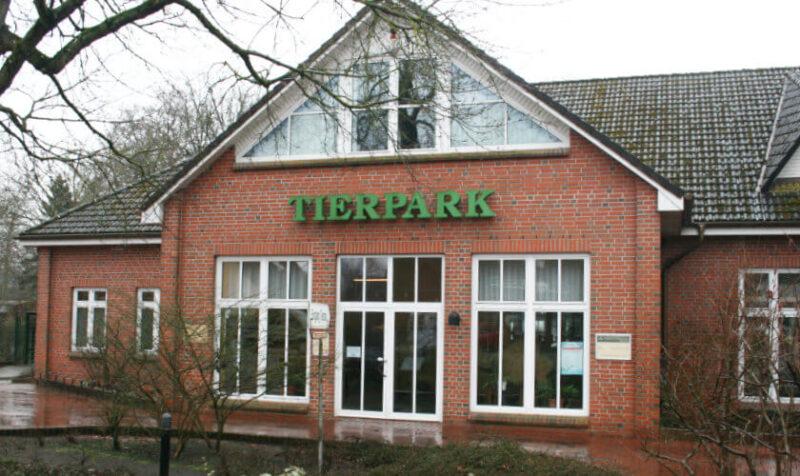 Tierpark Ueckermünde Eingangsgebäude