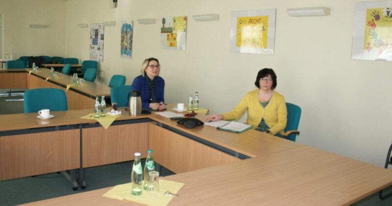 Videokonferenz der Stadt Pasewalk