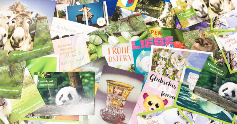 Ostereiersuche in der April-Ausgabe