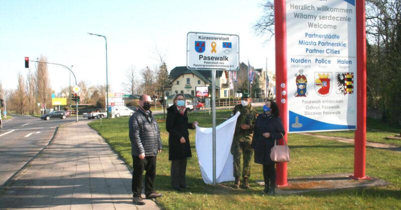 Stadt Pasewalk – neue Schilder