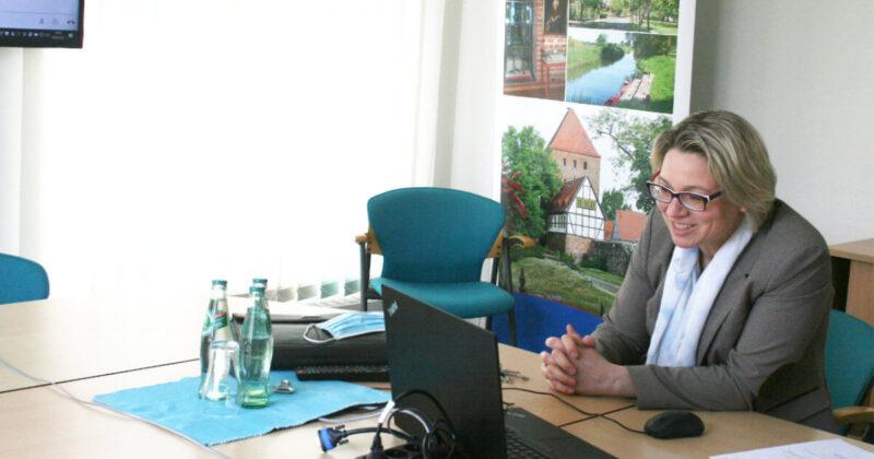 Videokonferenz mit Sandra Nachtweih
