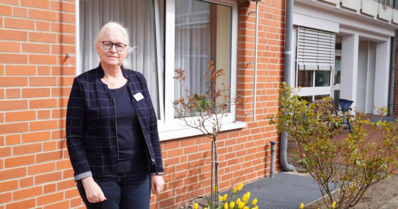Die Leiterin des Vitanas Senioren Centrums Am Tierpark in Ueckermünde Christine Schmidt blickt zuversichtlich in die Zukunft.