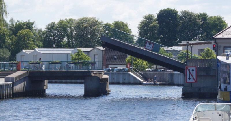Ueckermünder Klappbrücke