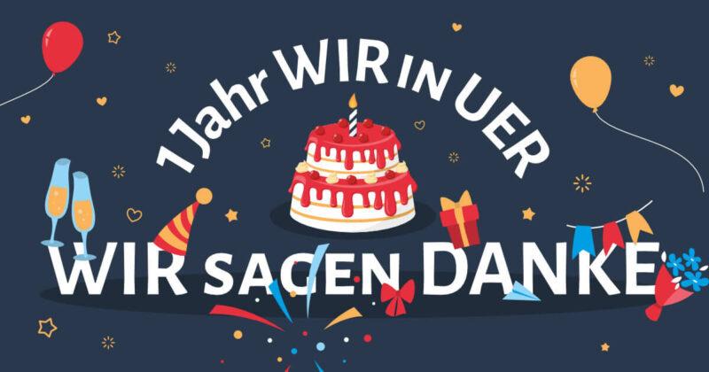 Ein Jahr WIR in UER GmbH