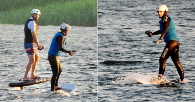 Efoilen – das Schweben oder Fliegen übers Wasser