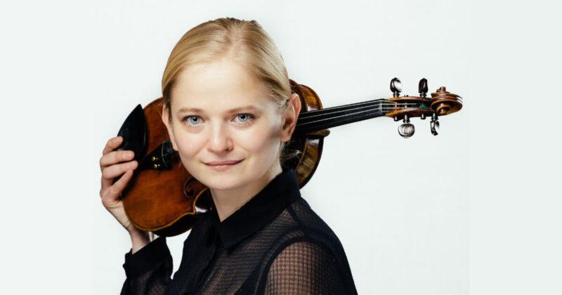 Konzertmeisterin Triin Ruubel