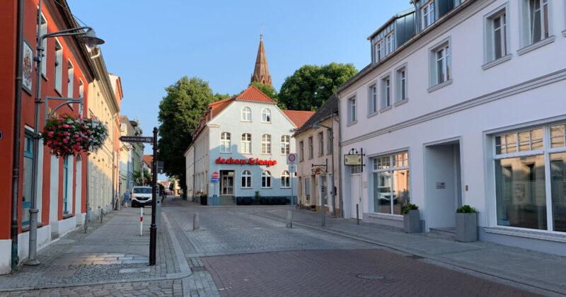 Ueckermünde Innenstadt Poller