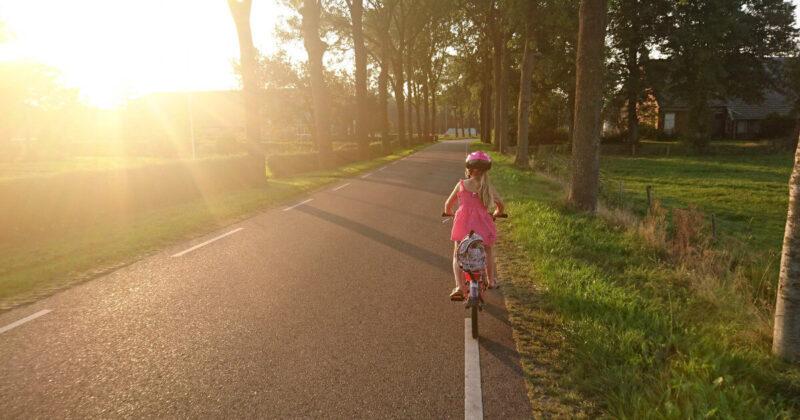 Fahrrad fahren – aber sicher!