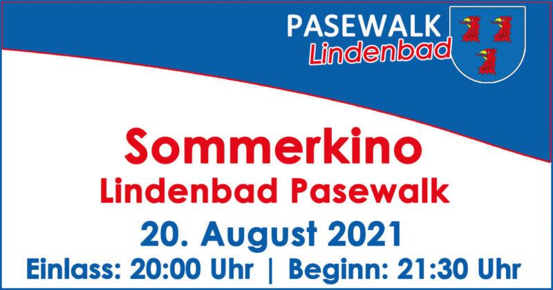 Sommerkino im Lindenbad Pasewalk