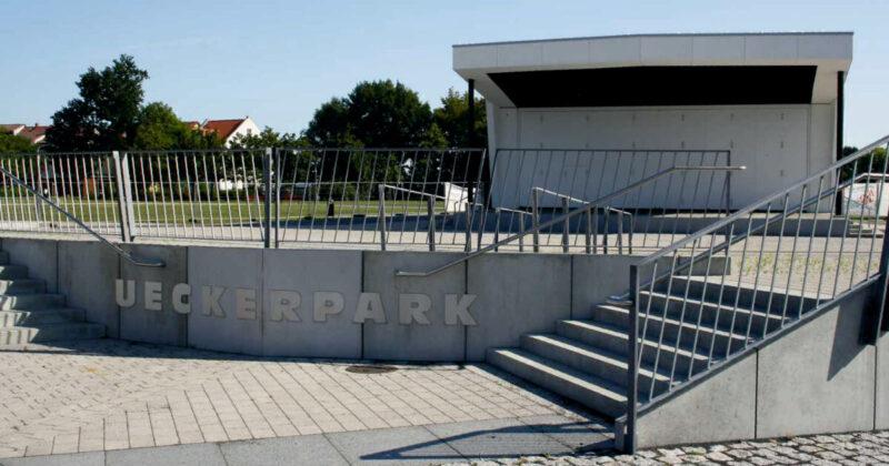Ueckerpark in Ueckermünde
