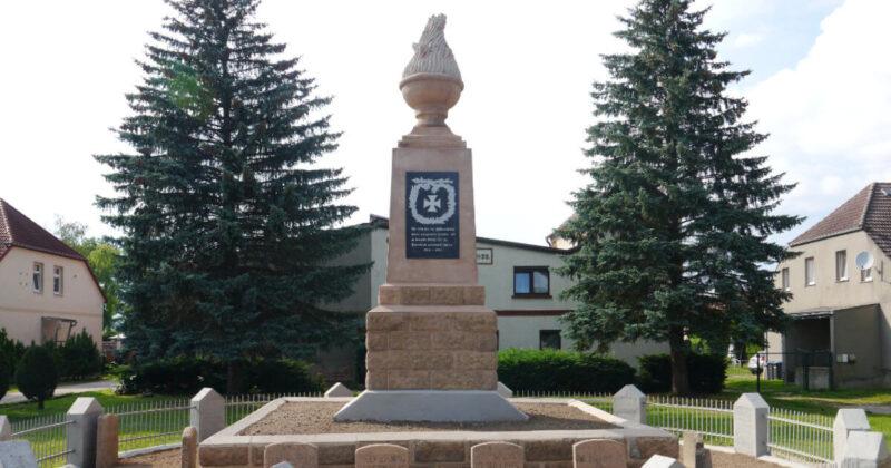 Weltkriegsdenkmal in Brietzig