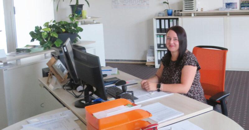 Maria Ott   Verstärkung bei der Wohnungsgenossenschaft Ueckermünde eG