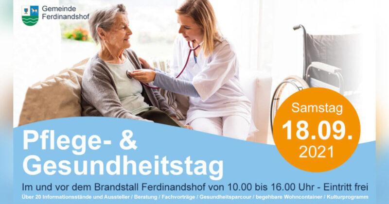 Pflege- und Gesundheitstag