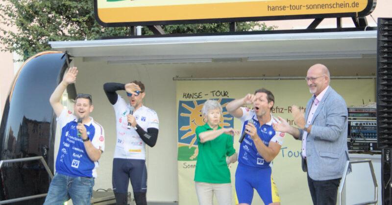 Hanse-Tour Sonnenschein zu Gast in Ueckermünde