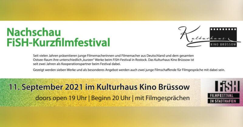 "Festival-Kino Nachschau ""FiSH-Kurzfilmfestival Rostock"""