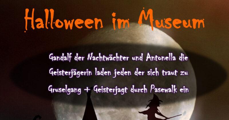 Halloween im Museum der Stadt Pasewalk